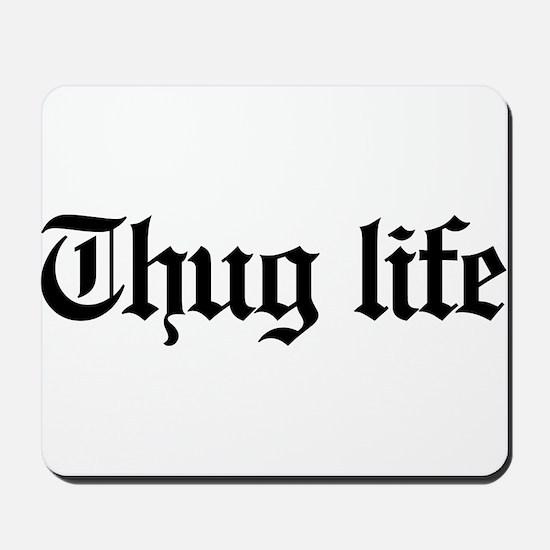 thug life, gangster, baby, g, thug, Mousepad