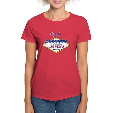 Las Vegas Bride Women's Dark T-Shirt