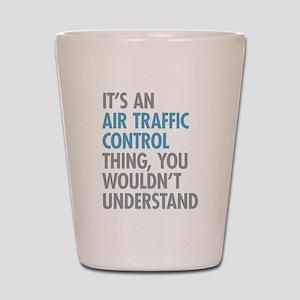 Air Traffic Control Shot Glass