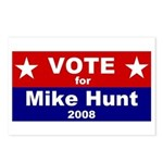 Vote for Mike Hunt Postcards (Package of 8)