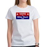 Vote for Mike Hunt Women's T-Shirt