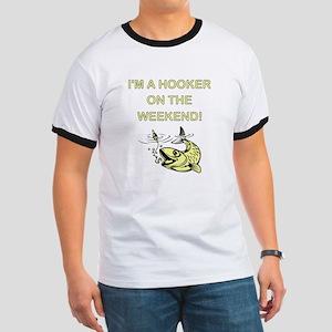 I'M A HOOKER Ringer T