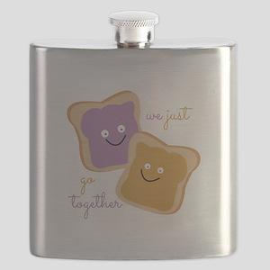 We Go Together Flask