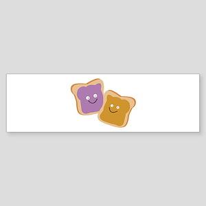 PB & J Bumper Sticker