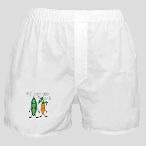 Peas & Carrots Boxer Shorts