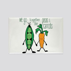 Peas & Carrots Magnets