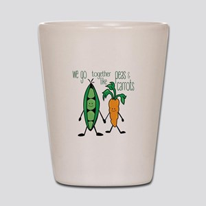 Peas & Carrots Shot Glass