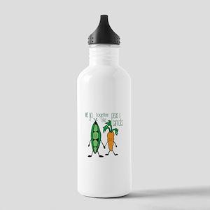 Peas & Carrots Water Bottle