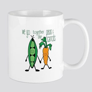 Peas & Carrots Mugs