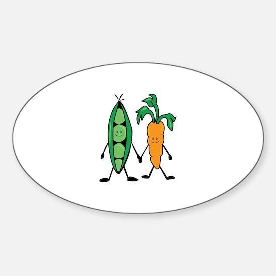 Carrot & Peas Decal