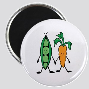 Carrot & Peas Magnets