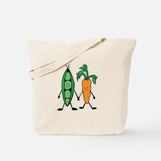 Carrot & Peas Tote Bag