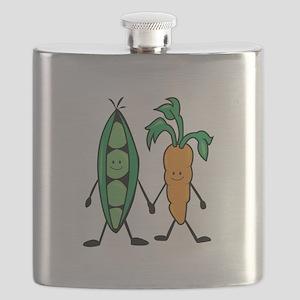 Carrot & Peas Flask
