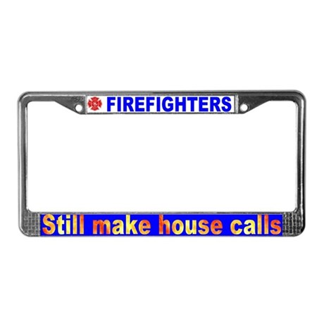 Fire Dept License Plate Frame By Csi Mystix