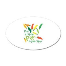 Pep In Your Step Wall Decal