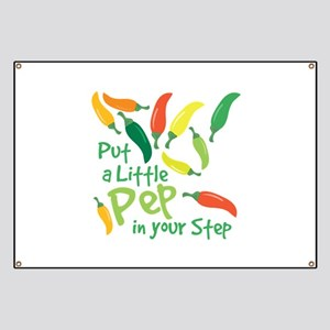 Pep In Your Step Banner
