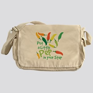 Pep In Your Step Messenger Bag