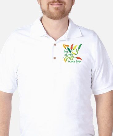Pep In Your Step Golf Shirt