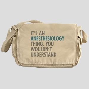Anesthesiology Messenger Bag