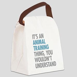 Animal Training Canvas Lunch Bag