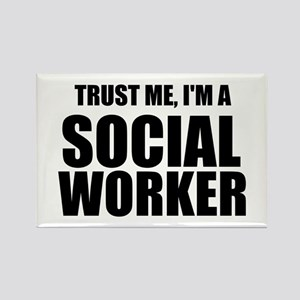 Trust Me, I'm A Social Worker Magnets