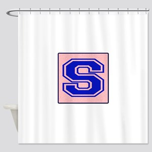 S character Shower Curtain