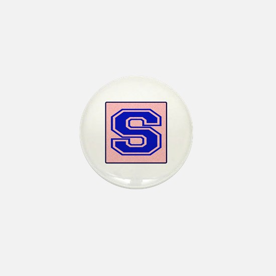 S character Mini Button