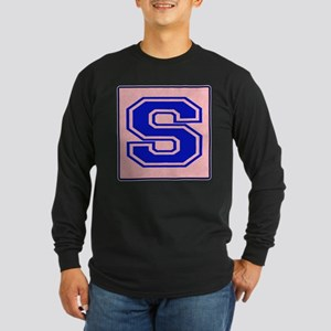 S character Long Sleeve Dark T-Shirt