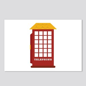 Telephone Booth Postcards (Package of 8)