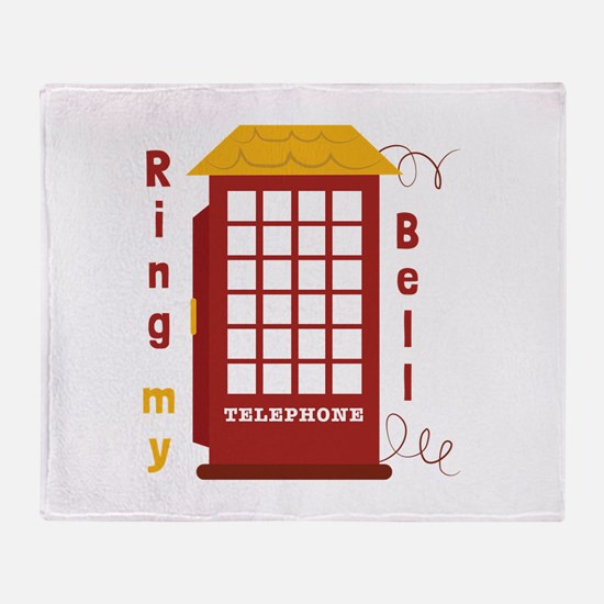 Ring My Bell Throw Blanket