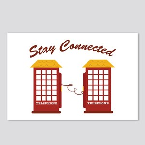 Stay Connected Postcards (Package of 8)