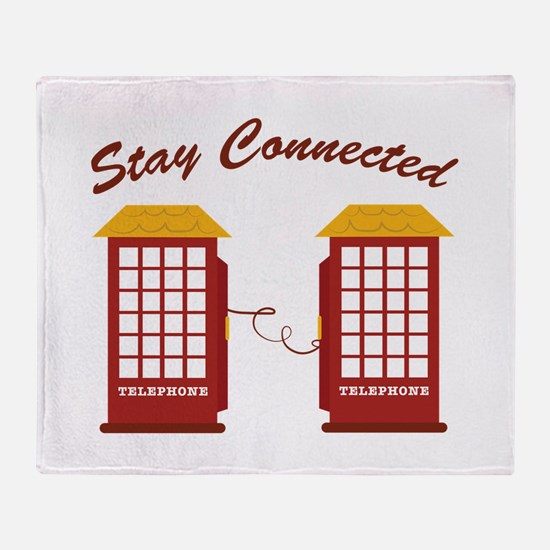 Stay Connected Throw Blanket