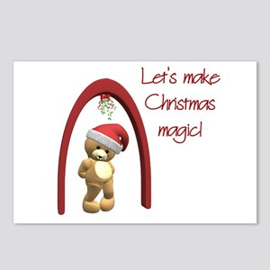 Christmas Magic Postcards (Package of 8)