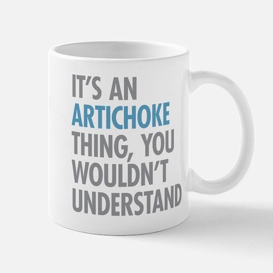 Artichoke Thing Mugs