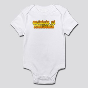Impeach the President in Span Infant Bodysuit