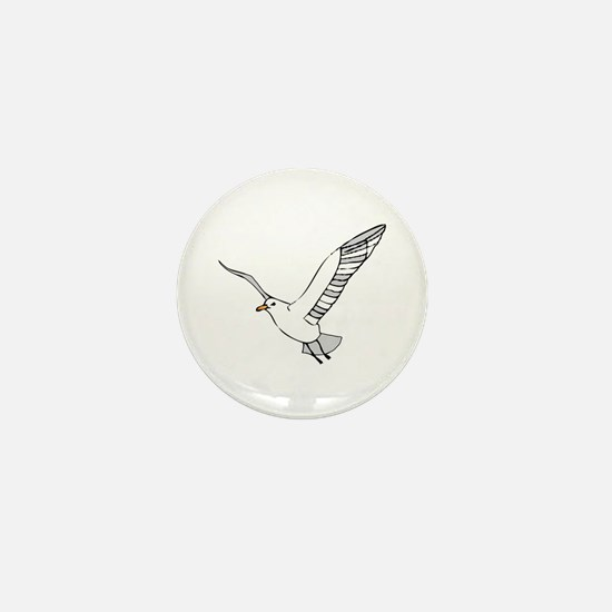 Seagull Mini Button