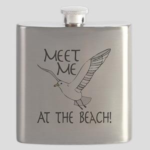 Meet Me At The Beach! Flask