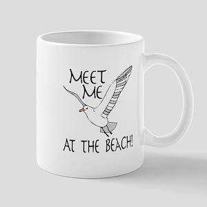Meet Me At The Beach! Mugs