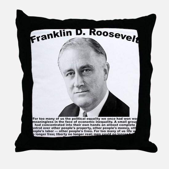 FDR: Powerless Throw Pillow