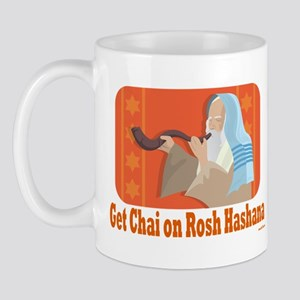 Get Chai On Rosh Hashanah Mug