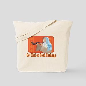 Get Chai On Rosh Hashanah Tote Bag