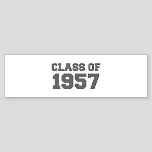 CLASS OF 1957-Fre gray 300 Bumper Sticker