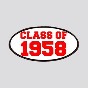 CLASS OF 1958-Fre red 300 Patch