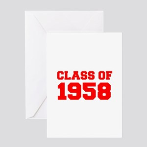 CLASS OF 1958-Fre red 300 Greeting Cards