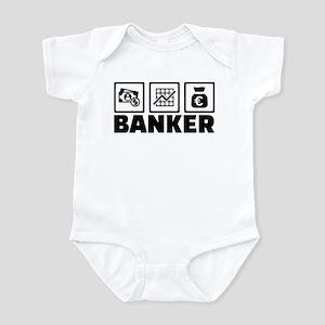 Banker Infant Bodysuit
