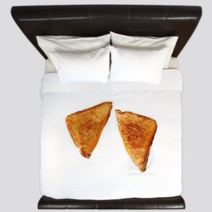 grilled cheese sandwich King Duvet