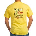 Fire Steve Tradition Yellow T-Shirt