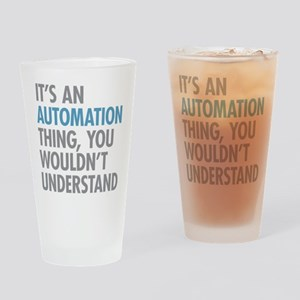 Automation Thing Drinking Glass