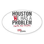 Fire Steve Houston Oval Sticker