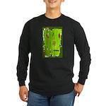 Absinthe Surfing Long Sleeve Dark T-Shirt